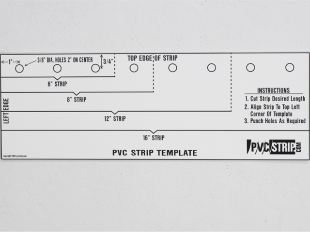 how to cut and punch strips pvcstrip com